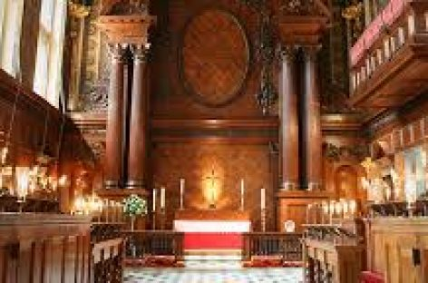 Catholic service… After 450 years in Henry VIII's chapel