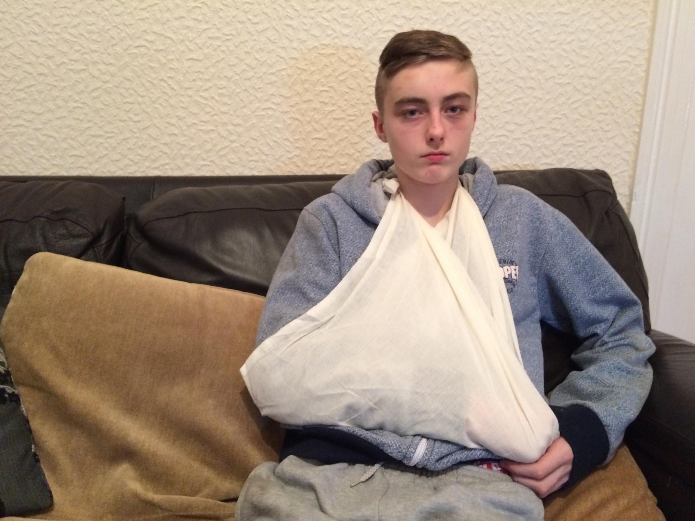Teenage Brother Attacked in West Yorkshire As little Sister Watches