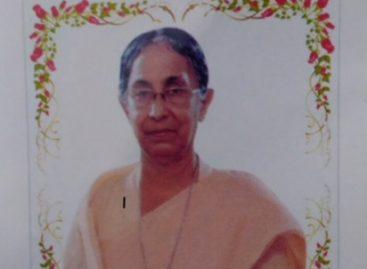 സ്റ്റോക്ക് ഓൺ ട്രെന്റ് മലയാളിയുടെ സഹോദരിയും കർമ്മലീത്താ സഭാംഗവുമായ സിസ്റ്റർ ജെയ്സി കാർമ്മൽ നിര്യാതയായി