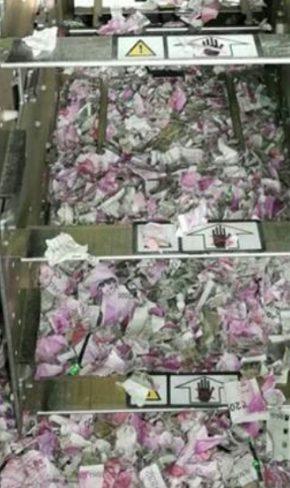 എടിഎമ്മിനുള്ളില് കയറിയ ചുണ്ടെലി കരണ്ടത് 12.38 ലക്ഷം രൂപയുടെ നോട്ടുകള്