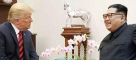 ഉത്തരകൊറിയ രാജ്യത്തിന് ഭീഷണിയായി തുടരുകയാണ്; സമാധാന ചര്ച്ചകള് പാളിയെന്ന് സൂചന നല്കി ട്രംപ്