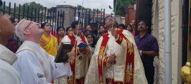 മദര്വെല് സീറോ മലബാര് കമ്യൂണിറ്റിയുടെ ആസ്ഥാനമായ ബേണ്ബാങ്ക് സെന്റ് കത്ബെര്ട് പള്ളിയില് മാതാവിന്റെ സ്വര്ഗ്ഗാരോപണ തിരുന്നാളിന് കൊടിയേറി