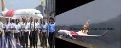 കണ്ണൂർ വിമാനത്താവളത്തിൽ ആദ്യ യാത്രാ വിമാനം വിജയകരമായി ലാൻഡ് ചെയ്തു; എയർ ഇന്ത്യ എക്സ്പ്രസിന്റെ ബോയിങ് 737ണ് വിജയകരമായി പറന്നിറങ്ങിയത്…
