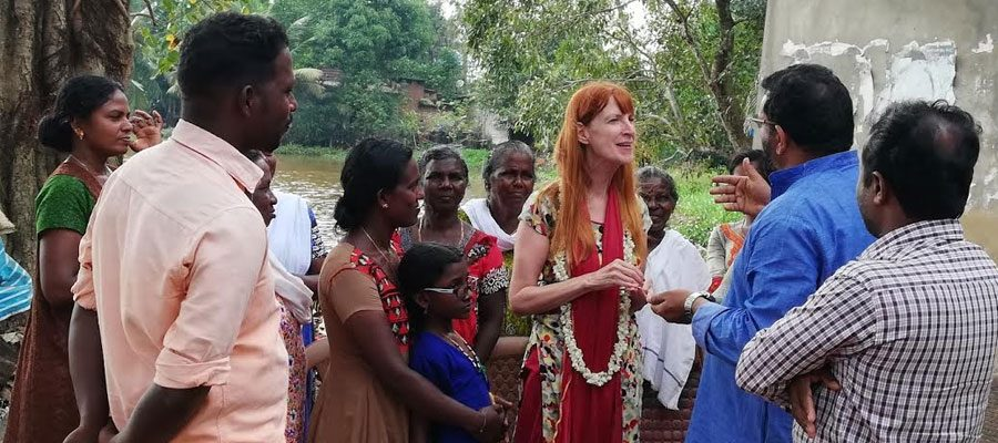 പ്രളയബാധിത മേഖലയില് ഗ്ലോബല് പീസ് വിഷന് സര്വ്വേ ആരംഭിച്ചു