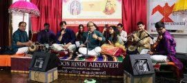 ലണ്ടന് ഹിന്ദു ഐക്യവേദിയുടെ ചെമ്പൈ സംഗീതോത്സവം അരങ്ങേറി