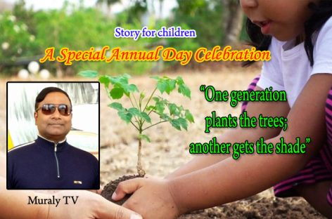 A Special Annual Day Celebration- Story for Children by Muraly TV