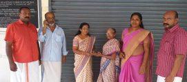 ഇടുക്കി ജില്ലാ സംഗമത്തിന് ലഭിച്ച പ്രളയ സഹായനിധി കൈമാറി