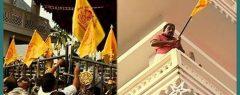 പിറവം പള്ളിയില് സംഘര്ഷാവസ്ഥ; ദേഹത്ത് മണ്ണെണ്ണ ഒഴിച്ച് ആത്മഹത്യാ ഭീഷണിയുമായി വിശ്വാസികള്