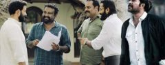 മാസ്സ് ലുക്കിൽ അതിരപ്പള്ളിയിൽ മമ്മൂട്ടി ചിത്രം 'പതിനെട്ടാം പടി'യിൽ പൃഥ്വിരാജും