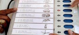 കോവളത്ത് വോട്ടിംഗ് യന്ത്രത്തിന് തകരാറെന്ന് ആരോപണം, കൈപ്പത്തിക്ക് കുത്തുമ്പോൾ താമര തെളിയുന്നു; നിഷേധിച്ച്കളക്ടര്