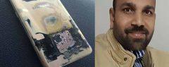 മൊബൈൽ ഫോണ് പൊട്ടിത്തെറിച്ചു; സൗദിയിൽ മലയാളി അദ്ഭുതകരമായി രക്ഷപ്പെട്ടു