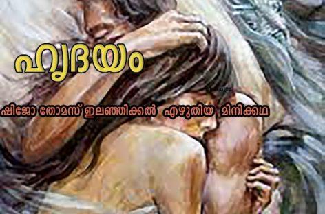 ഹൃദയം :: ഷിജോ തോമസ് ഇലഞ്ഞിക്കൽ  എഴുതിയ  മിനിക്കഥ
