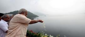 മോദിയുടെ 69-ാം പിറന്നാള് 'ആഘോഷമാക്കി' സോഷ്യൽ മീഡിയയും; ബഹുവര്ണമണിഞ്ഞു സര്ദാര് സരോവര് അണക്കെട്ട്