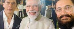 മഹാത്മ ഗാന്ധിയുടെ 150ാം ജന്മവാര്ഷിക ആഘോഷം, ബോളിവുഡിന് എന്ത് ചെയ്യാം; ഷാരൂഖും ആമിറും അടക്കമുള്ള താരങ്ങളുമായി മോദി ചര്ച്ച നടത്തി