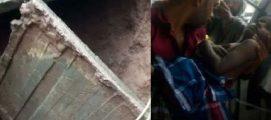 കൊല്ലം അഞ്ചലില് സ്കൂളിലെ കോണ്ക്രീറ്റ് മാലിന്യ ടാങ്ക് തകര്ന്ന് വിദ്യാര്ഥികള് ഉളളില് വീണു; അഞ്ച് കുട്ടികള്ക്ക് പരുക്ക്