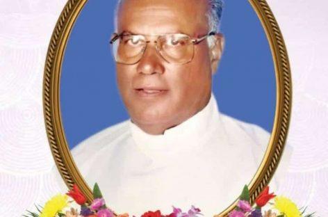 എടത്വാ മഹാജൂബിലി മെമ്മോറിയല് ഹോസ്പിറ്റല് സ്ഥാപകന് മോണ്. ജയിംസ് പറപ്പള്ളി (85) നിര്യാതനായി.