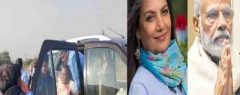 മുംബൈ-പുനെ എക്സ്പ്രസ് പാതയിലെ അപകടം, നടി ശബാന ആസ്മി അപകട നില തരണം ചെയ്തതായി റിപ്പോര്ട്ട്; സിനിമാ ലോകത്തോടൊപ്പം നടിക്കുവേണ്ടി പ്രാര്ഥിച്ച്  നരേന്ദ്ര മോദി, കെജ്രിവാള്, മമത, ലതാ മങ്കേഷ്കര് തുടങ്ങി പ്രമുഖര്