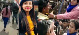 സോഷ്യൽ മീഡിയയിൽ താരമായി  സബ്   കലക്ടർ പ്രിയ വർമ്മ.  മുടിയിൽ പിടിച്ചു   വലിച്ച  ബിജെപി പ്രവർത്തകരെ തല്ലി ഓടിച്ചു