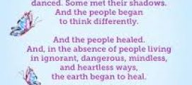 വീട്ടിലിരുന്നപ്പോൾ :  ഒന്നര നൂറ്റാണ്ടു മുമ്പ് 1869-ൽ  കാത്ലീൻ ഒമേറ എഴുതിയ  കവിത. സമകാലീന കാലഘട്ടത്തിൽ വളരെ പ്രസക്തം