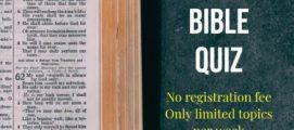 സുവാറ ബൈബിൾ ക്വിസ് ആദ്യ റൗണ്ടിൽ പതിനഞ്ചു കൂട്ടികൾ പ്രഥമ സ്ഥാനം കരസ്ഥമാക്കി. മത്സരത്തിന്റെ രണ്ടാം റൗണ്ട് മത്സരങ്ങൾ ശനിയാഴ്ച മുതൽ