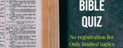 സുവാറ 2020 ബൈബിൾ ക്വിസ് മത്സരങ്ങളുടെ രണ്ടാം റൗണ്ടിലെ രണ്ടാമത്തെ ആഴ്ചയിലെ മത്സരം സമാപിച്ചപ്പോൾ കൂടുതൽ കുട്ടികൾ മുൻനിരയിലേക്ക് .