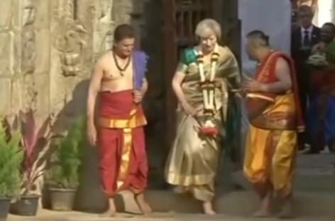 ബ്രിട്ടീഷ് തെരഞ്ഞെടുപ്പില് തെരേസ മേയെ വിജയിപ്പിക്കണമെന്ന ആവശ്യവുമായി ഹിന്ദിഗാനവും; വീഡിയോ കാണാം