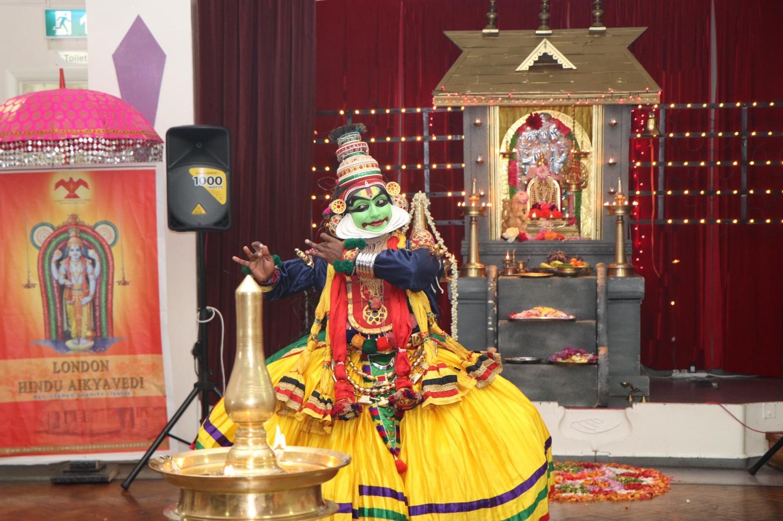 ലണ്ടൻ ഹിന്ദു ഐക്യവേദിയുടെ ഈവർഷത്തെ ഓണാഘോഷം അവിസ്മരണീയമായി .