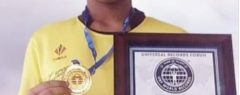 കാൽപന്ത് തട്ടി അഖില യു. ആർ.എഫ് ലോക റിക്കാർഡിൽ ഇടം പിടിച്ചു