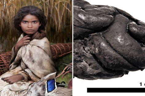 5700 കൊല്ലം പഴക്കമുള്ള ച്യൂയിങ്ഗത്തിൽ നിന്നും പെൺകുട്ടിയുടെ  ജനിതകഘടന കണ്ടെത്തി