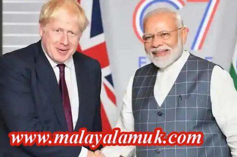 ഇന്ത്യയുമായി പുതിയ വ്യാപാര നിക്ഷേപ പദ്ധതികളുമായി ബ്രിട്ടൻ. ലക്ഷ്യമിടുന്നത് ഒരു ബില്യൺ പൗണ്ടിൻെറ വ്യാപാര കരാർ. 6000 തൊഴിലവസരങ്ങൾ സൃഷ്ടിക്കപ്പെടും